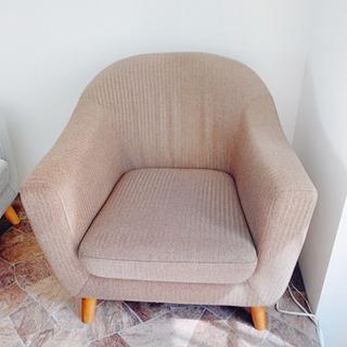 【南行徳】美品1人掛けソファの画像