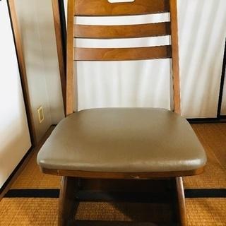 回転式こたつ椅子!