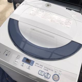 取引中2016年製シャープ全自動洗濯機5.5キロ美品。千葉県内配...
