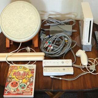 引越します!Wii ・太鼓の達人セット