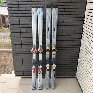 ATOMIC アトミック スキー板2本 SALOMON サロモン...
