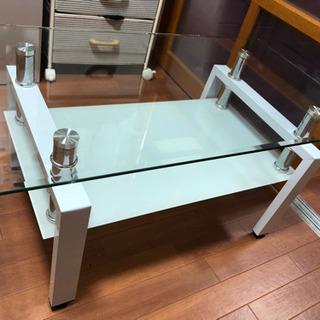ガラステーブル 【すぐとりひき可能】 - 鈴鹿市