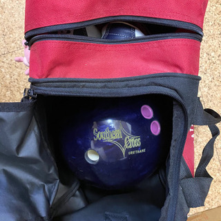 ボーリングの球、靴