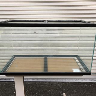 オーバーフロー 水槽【配管なし】ツインライト・濾過材・砂利セット