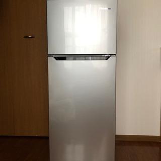 【美品】Hisense 2ドア冷凍冷蔵庫120L 2017年製