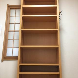 SALE‼️木製天井本棚 8段超美品