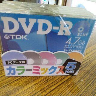 TDK DVD-R(未開封)