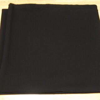 服飾用生地 黒 新品未使用品