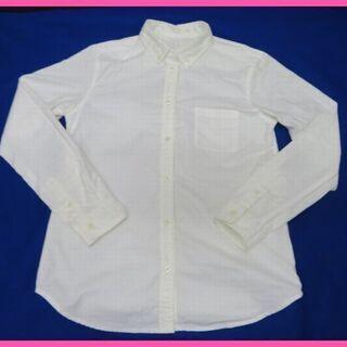GU レディース ボタンダウンシャツ サイズS  白