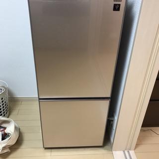 冷蔵庫(シャープ2018年製 SJ-GD14D-C)