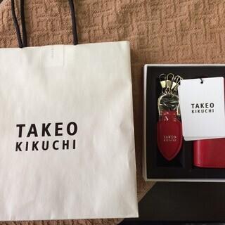 新品未使用 TAKEO KIKUCHI タケオキクチ 名刺入れ ...