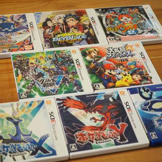 3DSソフト8点+おまけ(決まりました)