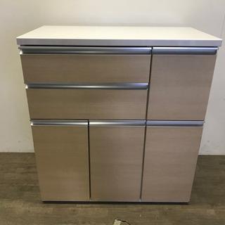 ☆121798 キッチンカウンター 収納棚☆