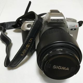 一眼レフフィルムカメラ MINOLTA Sweet S