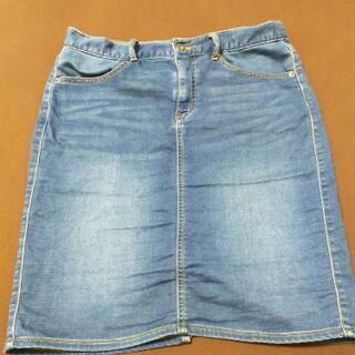 GU デニムタイトスカート XL