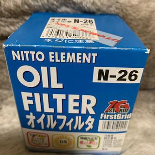 新品未使用・NITTO ELEMENT オイルフィルタ