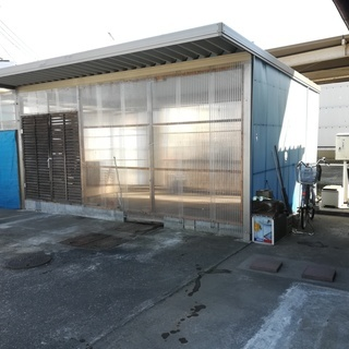 倉庫、駐車場 作業場 使い方自由