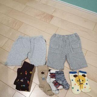 男の子ズボン 80サイズ&靴下