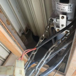 シャッター修理、電動化