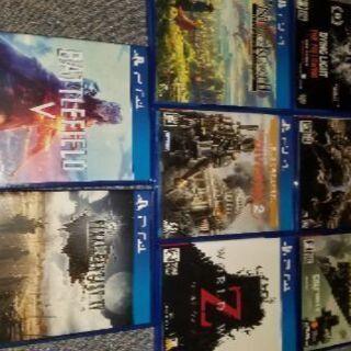 PS4ゲームソフト各種