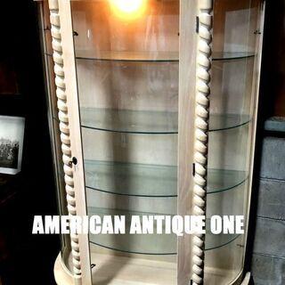 いい色合いです^^ ベストサイズ178cm ショーケース 飾り棚...