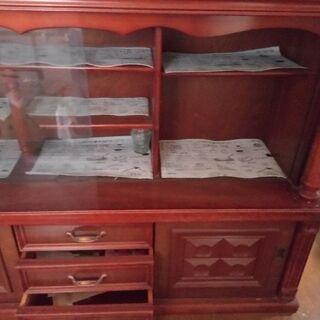 茶箪笥/食器棚/キャビネット/和茶棚/和風家具