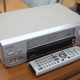 AIWA アイワ VHS ビデオデッキ HV-FR70 テープ再...