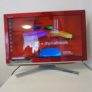 21.5型FHD液晶搭載一体型PC Dynabook Qosmi...