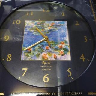モネ画の時計