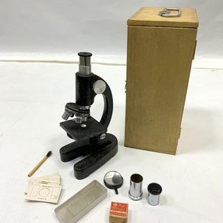 レトロ! EIKOW 顕微鏡セット ATOMICNOM320 付...