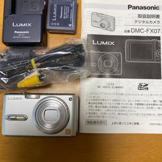 パナソニック デジタルカメラ DMC-FX07