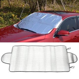 【新品】日焼け 凍結防止 フロントガラスカバー サンシェード 雪対策 紫外線対策の画像