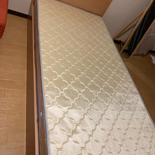 シングルサイズ ベッド+マットレス