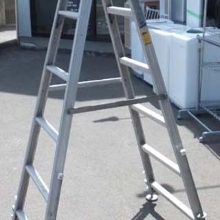脚立 アルミ合金製伸縮式はしご兼用脚立 ラビット RK-180 ...