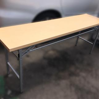 【在庫:4台】格安!折りたたみ会議テーブル オフィス家具 木製 ...