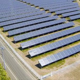 太陽光  架台、パネル設置