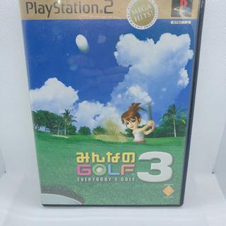 PS2 みんなのゴルフ3