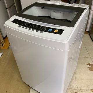 【リサイクルサービス八光 田上店 安心の3か月保証 旧鹿児島市配達・設置無料】IRIS 全自動洗濯機 7.0kg IAW-T701 ホワイト 2019年製の画像