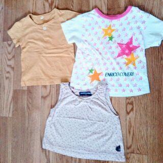 ブランドあり Tシャツとタンクトップ サイズ80cm