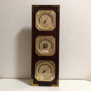 ●お取引完了●レトロ 温度計 湿度計 気圧計の画像