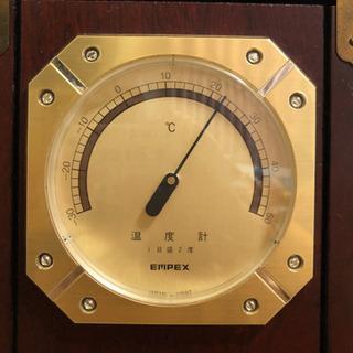 ●お取引完了●レトロ 温度計 湿度計 気圧計 - 生活雑貨