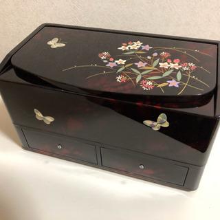●お取引完了●新品 石川県 漆器 ティッシュケース 鏡 引…