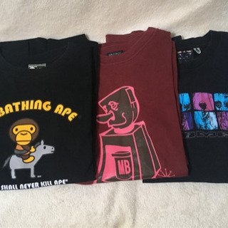 【Ape&MILKBOY&VANDALIZE】Tシャツ3枚セット