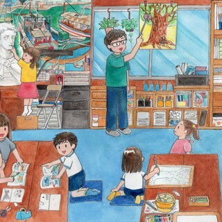 神戸市西区 明石市 絵画教室 工作教室 みんなのアトリエ