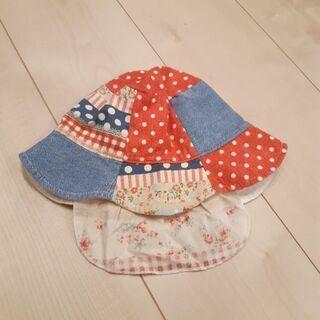 【ご成約】ベビー帽子 日除け - 子供用品