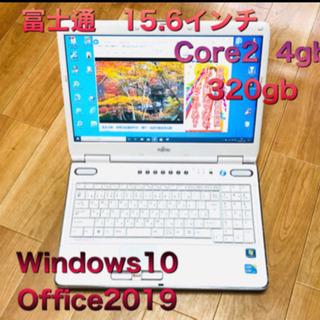 🔲富士通 NF/D70 15.6インチ/Core2/4GB/32...