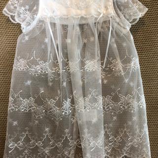 ベビードレス サイズ60cm カバーオールセット