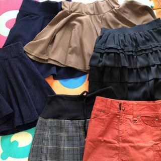 XS〜小さめMサイズ レディーススカートセット
