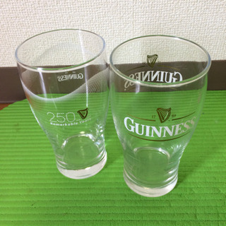 ギネス ビールグラス 2個セット