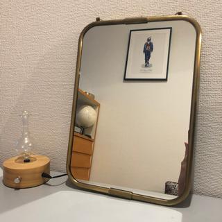 ACTUS アクタス 定価7千円ビンテージミラー 鏡